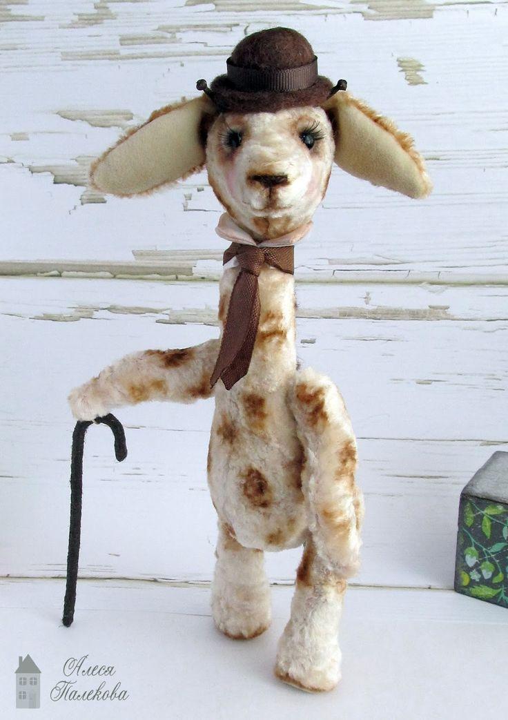 тедди жираф