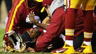 "Dr. Andrews calls RG3 'superhuman'     Dr. James Andrews told ESPN on Friday that Washington Redskins quarterback Robert Griffin III is ""superhuman"" and is ahead of schedule in recovering from knee surgery."