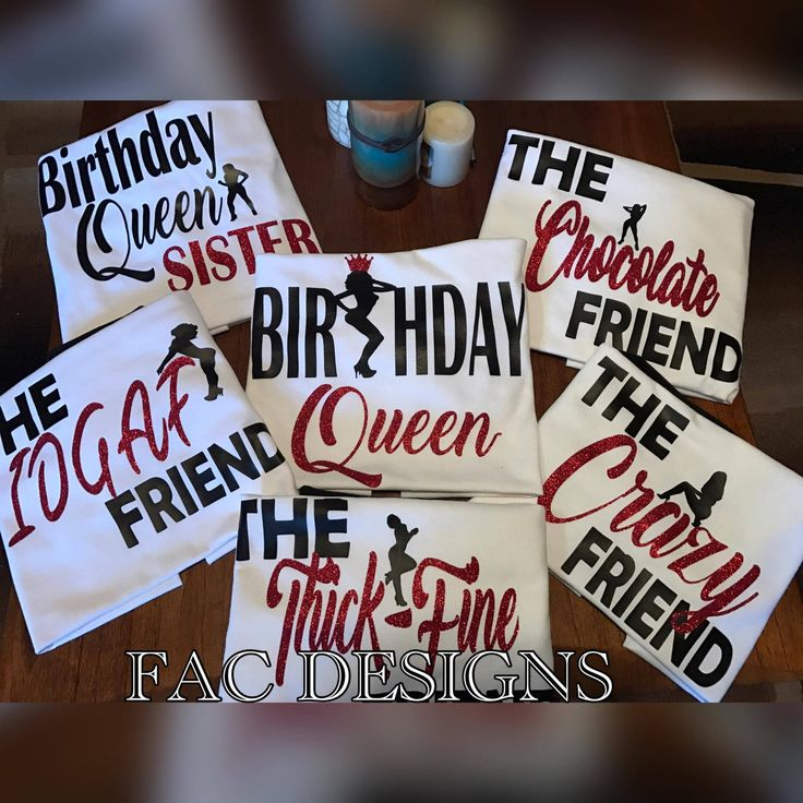 Birthday Squad Shirts, Birthday Girl, Friend Squad, Birthday Party, Women's Birthday Shirt, Crew Birthday Shirt, Birthday Queen Shirt by FACDesigns on Etsy https://www.etsy.com/listing/515175657/birthday-squad-shirts-birthday-girl