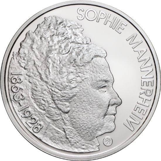 Sophie Mannerheim ja suomalainen terveydenhuolto, proof Vitriinissä