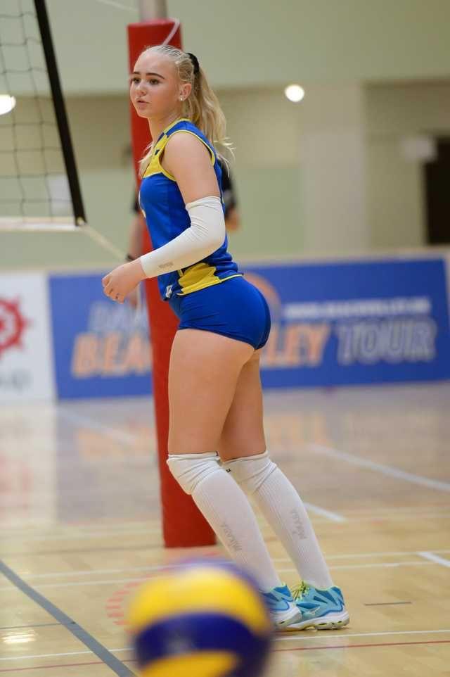 Volleyball Mädchen Sexiest 16 Hottest
