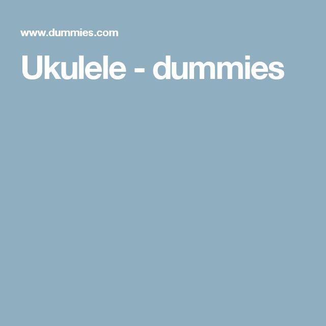 Ukulele - dummies