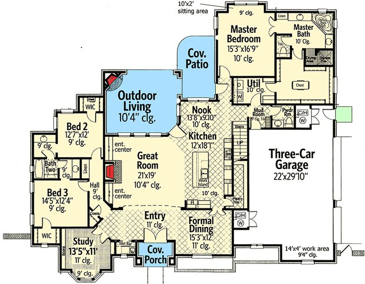 Best 25 architecture design ideas on pinterest for What is wic in a floor plan
