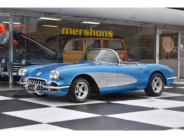 The Holistic Green Garden: 1960 Chevrolet Corvette