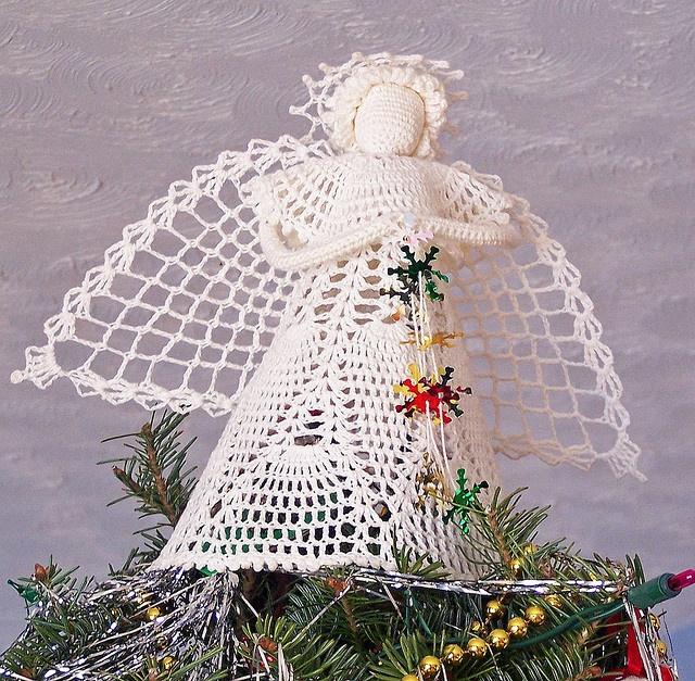 Crochet Angel Baptism Gift Christmas Lace Angel Ornament Tree: 122 Best Images About CROCHET ANGELIC ANGELS On Pinterest