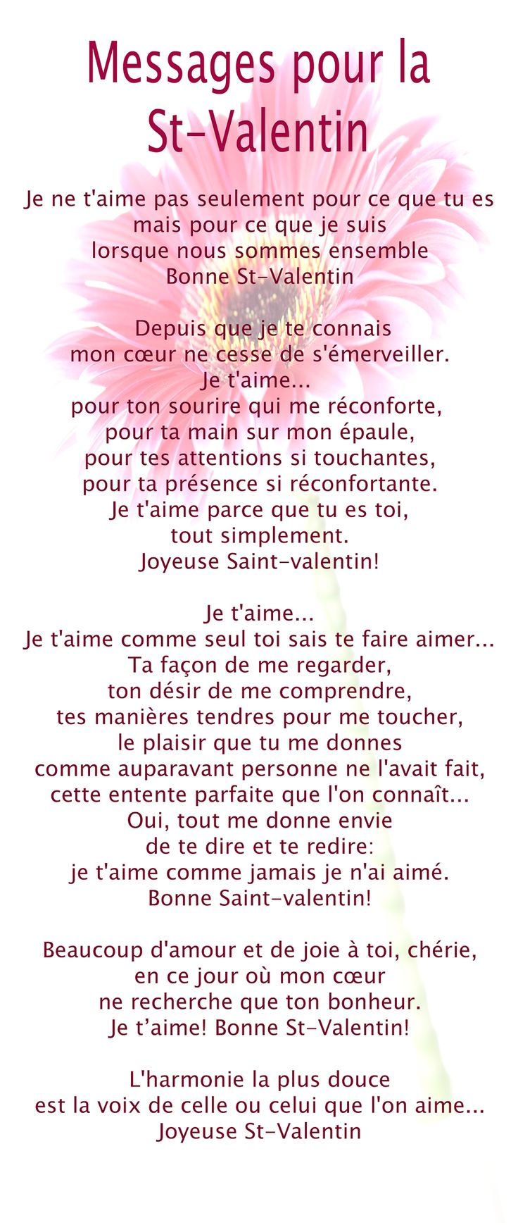 25 unique valentine poems ideas on pinterest fingerprint heart valentine theme and valentine - Poeme d amour pour la saint valentin ...