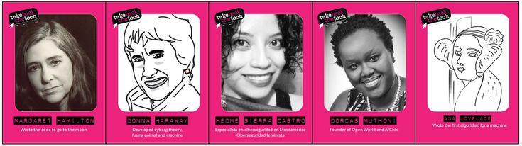 Take back the tech–¡Dominemos la tecnología!– es un movimiento que comenzó en el año 2006 a iniciativa delPrograma de derechos de las mujeres de la Asociación para el Progreso de las Comunicaciones (APC). La iniciativa buscaba realizar