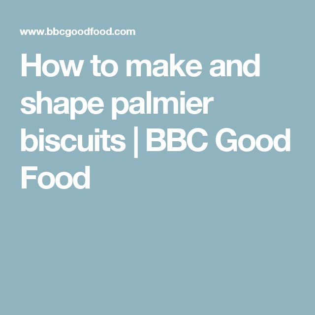 How to make and shape palmier biscuits | BBC Good Food