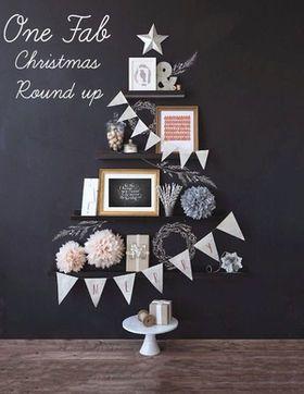 冬を彩るインテリア☆ツリーを使わないクリスマスツリー☆ - NAVER まとめ