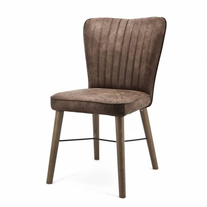 Stoel Chiba Jackson bruin  Description: Deze Eleonora Stoel Chiba Jackson heeft een elegant design. Deze stoel kun je gebruiken als eetkamerstoeldoet het ook goed in de woonkamer of op kantoor. De stoel is uitgevoerd met eikenhouten poten en heeft een comfortabele zitting en rugleuning. Vanwege zijn eenvoudige vormgeving past deze stoel in haast elke interieurstijl. Hij komt vooral goed tot uiting in een moderne en landelijke stijl. Je kunt de Stoel Chiba Jackson ook makkelijk combineren met…