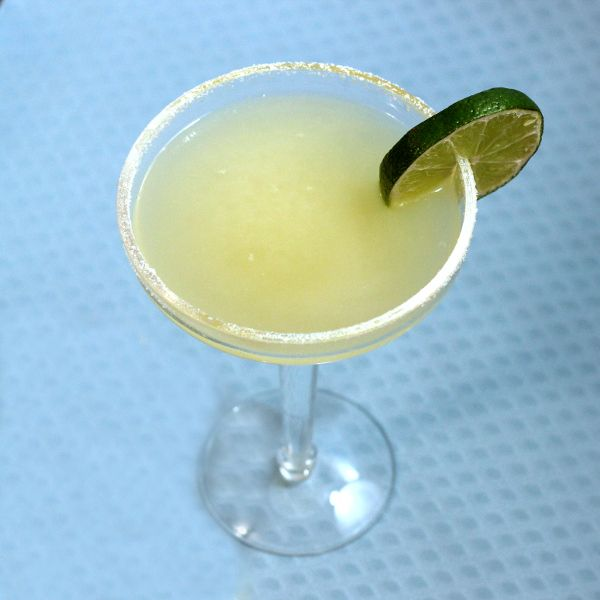 Cadillac Margarita - Recipe  2 ounces Reposado tequila 1/2 ounce Patron Citronge or Cointreau 2 ounces lime juice