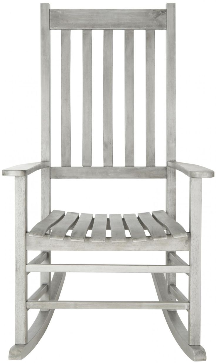 A country porch classic, this charming rocking chair is a perennial favorite in homes across America. Meticulously crafted of sustainable acacia wood with a grey wash finish, this piece is designed fo