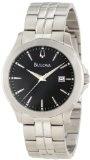 Bulova Men's 96X121 Bracelet and Boxed Set Watch