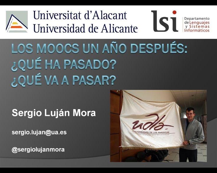 Reflexión: ¿hacia dónde van los MOOC's? ¿son realmente todos los cursos llamados MOOC'S? (en español) #reflexion #mooc #futuro