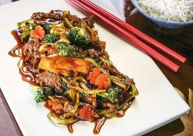 Biff med wokgrönsaker
