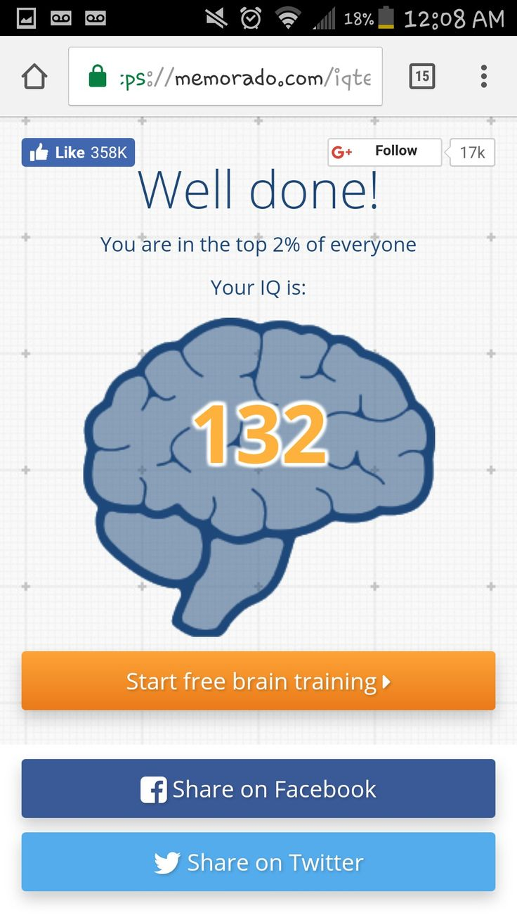 Short little IQ test I took for fun!