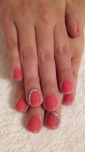 Coral nails! #PolishPro #mani #nailswag #PinkPareo
