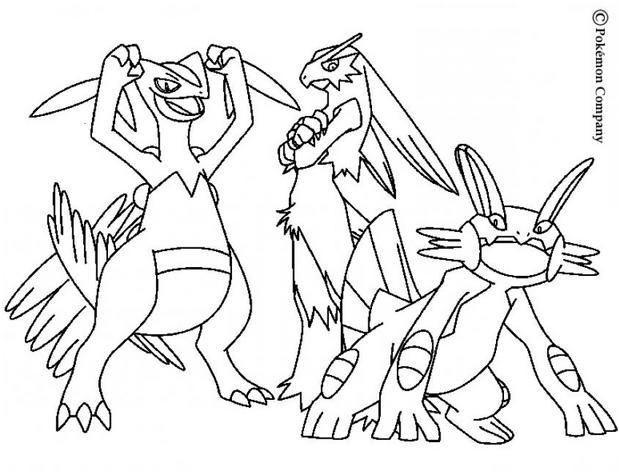 Coloriage Pokemon X Et Y Mega Evolution Coloriagepokemon