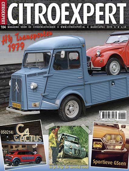 CitroExpert 104, mrt/apr 2014 http://www.citroexpert.nl/magazines/lezen/citroexpert-104-mrt-apr-2014