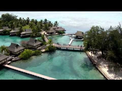 (10) InterContinental Moorea Resort & Spa Dolphin Center - YouTube