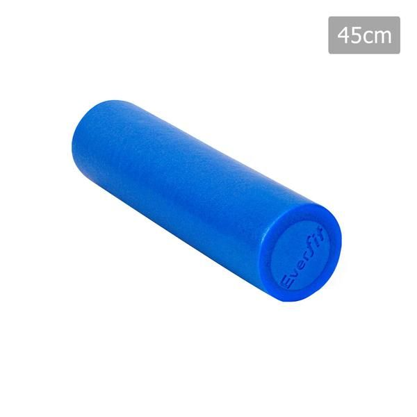 Yoga Gym Pilates EPE Stick Foam Roller Blue 45 x 15cm – Click Online Sales