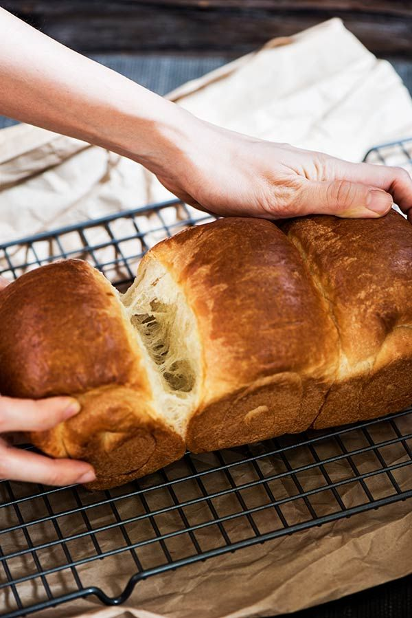This Japanese milk bread is the softest, lightest & fluffiest bread ever. Easily convert your regular bread recipe & you will never look back. I guarantee.