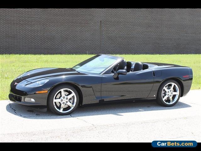 2007 Chevrolet Corvette Base Convertible 2-Door #chevrolet #corvette #forsale #unitedstates