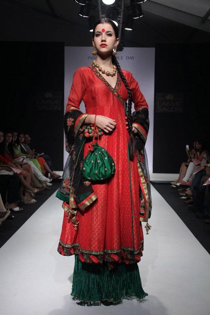 Meera & Rohit's @RIVAAYAT http://www.facebook.com/rivayat at Lakme Fashion Week Winter-Festive 2012