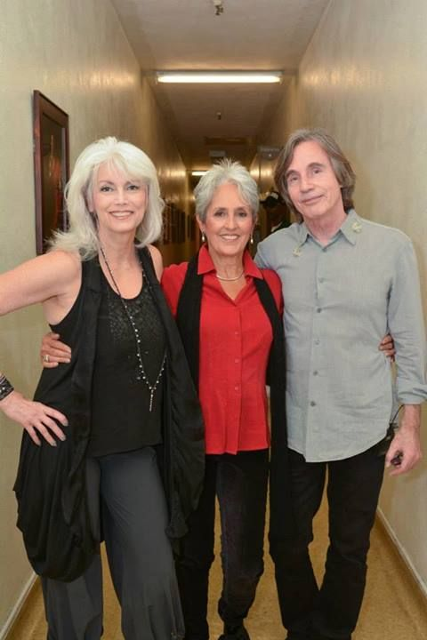 Emmylou Harris, Joan Baez and Jackson, Jackson Browne, uncredited