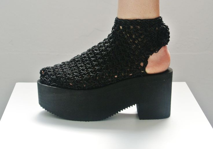 Arielle de Pinto LVMM - Open Heel Boot - Black
