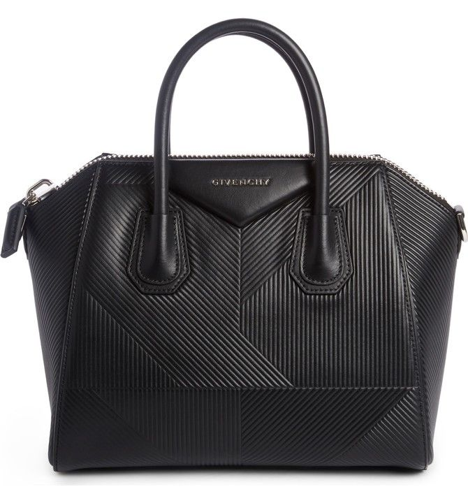 Givenchy Medium Antigona Geo Embossed Calfskin Satchel ($2,800)