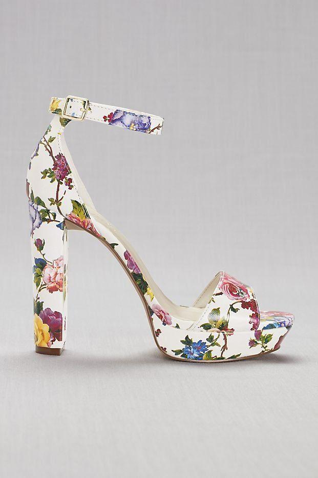 6b5d51549cf Floral Platform Heels
