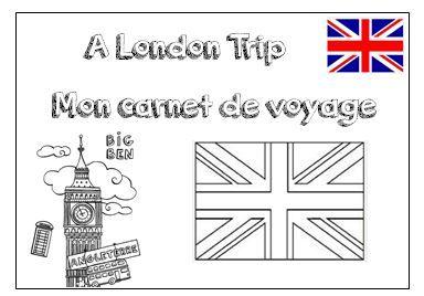 Carnet de voyage en Angleterre cycle 2