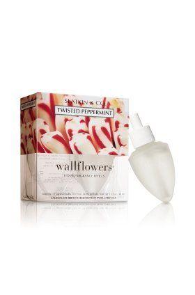 Bath & Body Works Slatkin & Co. Wallflowers® Home Fragrance 2-Bulb Refills TWISTED PEPPERMINT by Bath & Body Works. $9.99. Bath and Body Works Slatkin & Co. TWISTED PEPPERMINT Wallflower Refills 2 Bulbs. Bath and Body Works Slatkin & Co. TWISTED PEPPERMINT Wallflower Refills 2 Bulbs