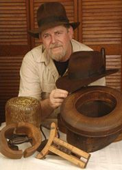 Adventurebilt Hat Company - Adventurebilt and Indiana Jones. It's hard for the modern man to look anything but dorky in a fedora but it's also hard not to fantasize that you'll look like a young Harrison Ford.