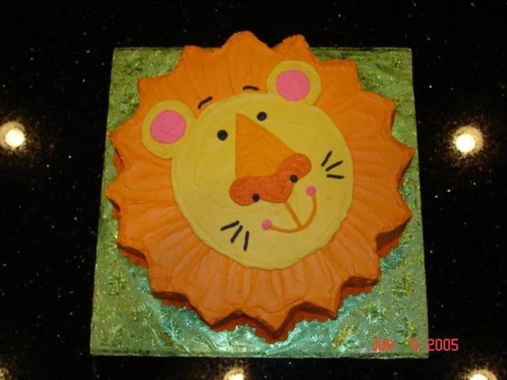 The 25 best Lion cakes ideas on Pinterest Lion cupcakes Lion