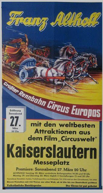 Circus collection: Circus Franz Althoff 1965
