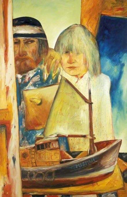 John Bellany, Self Portrait with Juliet