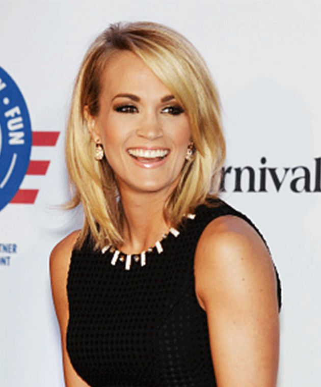 Carrie Underwood embraced motherhood and cut her hair. Photo: Getty Images