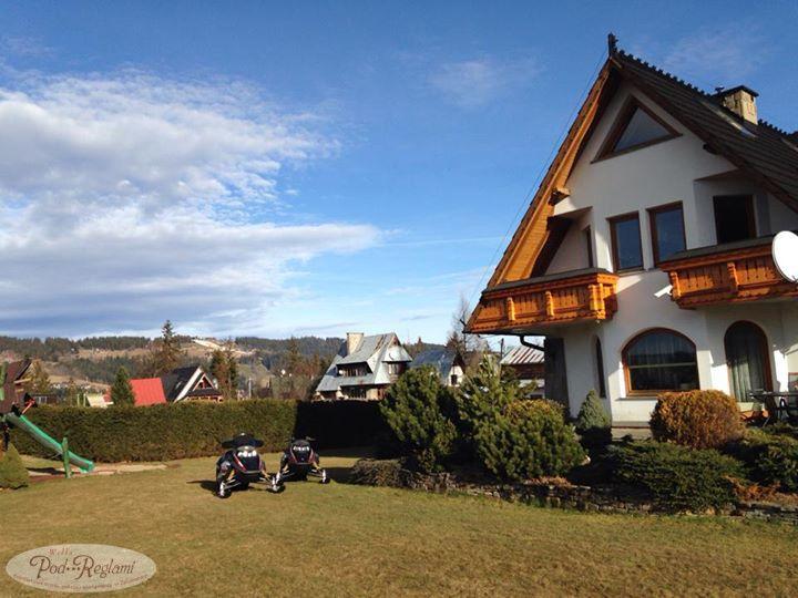 Zima (?) w Zakopanem - 9 styczeń 2014 roku w pensjonacie Willa Pod Reglami