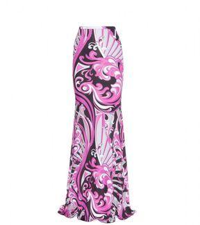Emilio Pucci PRINT MAXI SKIRT on shopstyle.co.uk