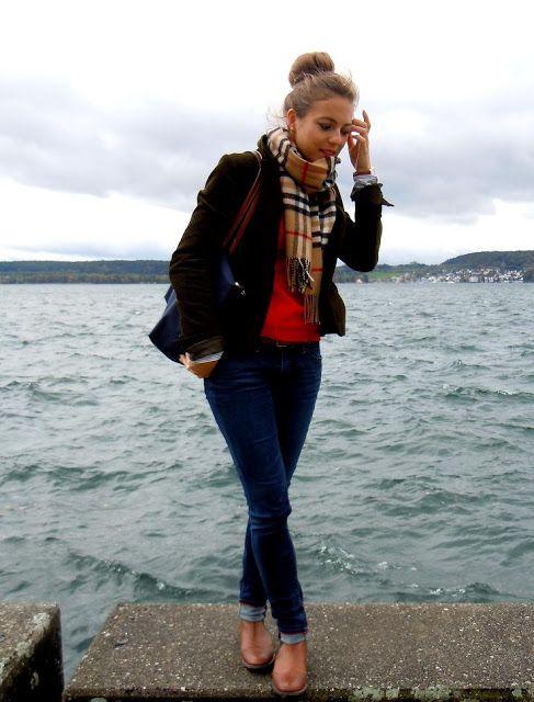Seeperlen: Outfit: Autumn Winds / schönes Outfit und toller #schal !