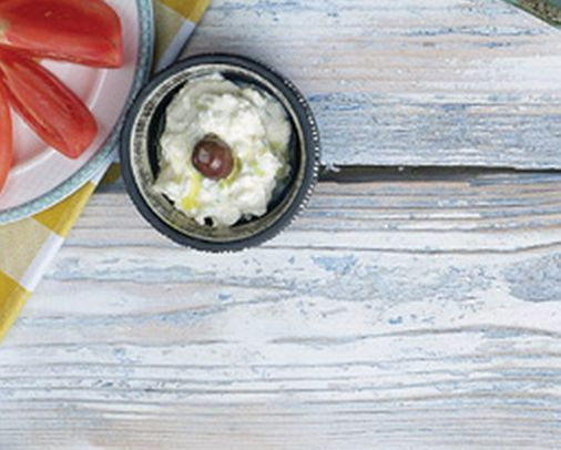 VISIT GREECE| Tirokafteri (Spicy Cheese Dip) #sympossio #greekrecipes