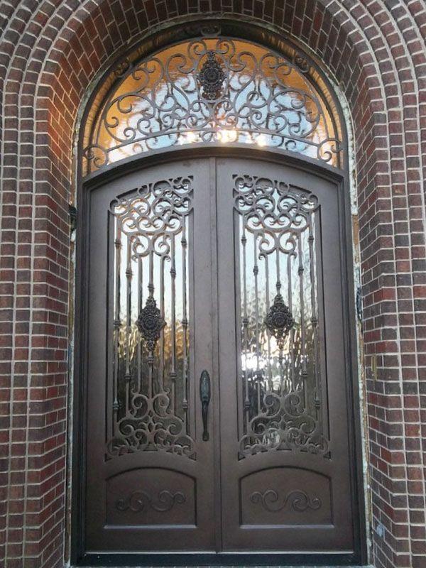 M s de 25 ideas incre bles sobre puertas de fierro for Puertas estilo moderno