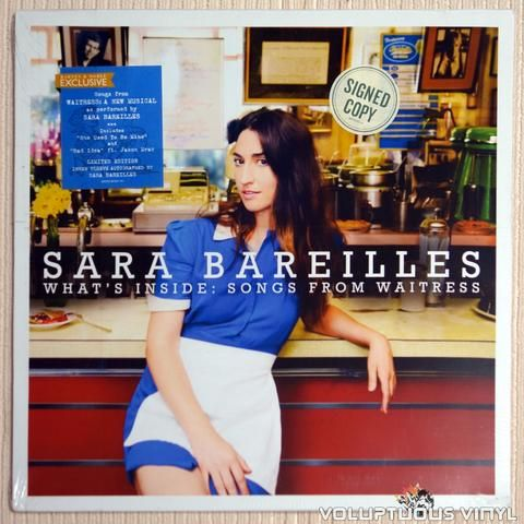 Limited edition signed vinyl pressing of Sara Bareilles 4th album.