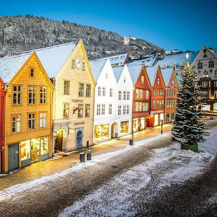 Bergen Norway's Second City and the Gateway to the Fjords. Photo by @visitbergen on Instagram.