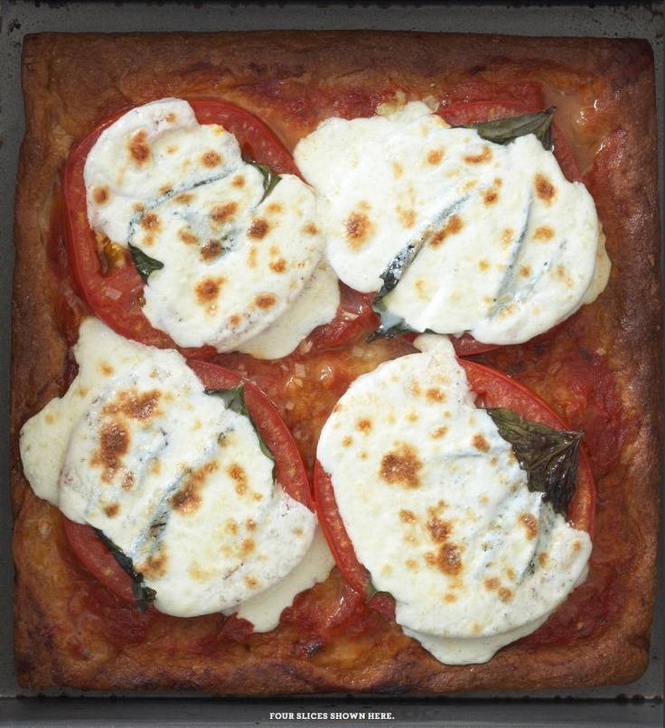 Whole Wheat Pizza Margherita PER SLICE 124 calories 2 grams fat