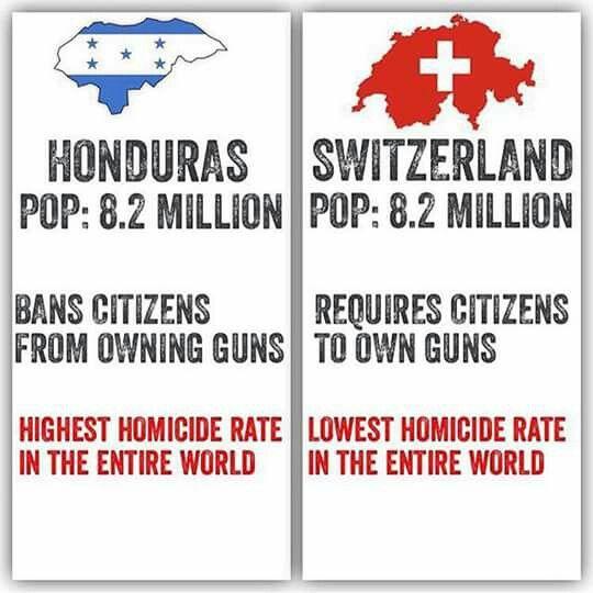 2nd Amendment - Even liberals should see the correlation.