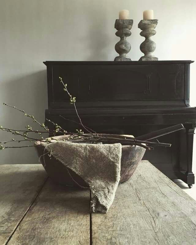 Fresco kalkverf P&O, warm grey, mooi