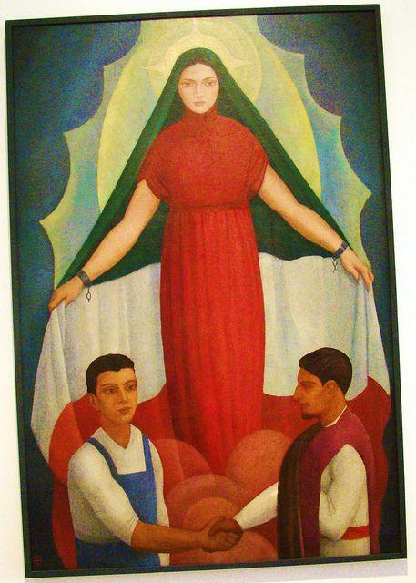 """""""Dolores del Rio"""" (1927) by Angel Zarraga"""